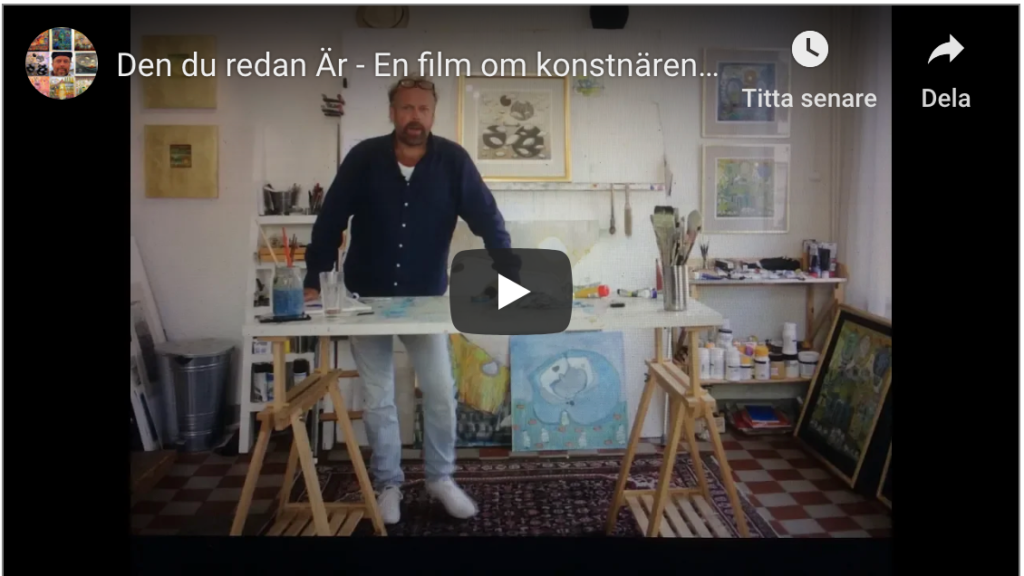 Den du redan Är – En film om konstnären Klas Parknäs